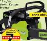 Kettensäge 80 Volt von Greenworks