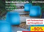 Solar-Bodenlichterkette von easy! MAXX