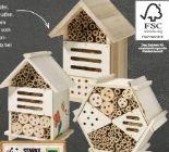 Insektenhotel-Bausatz von Edeka zuhause