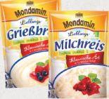 Süße Gerichte von Mondamin