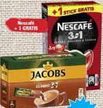 Löslicher Kaffee 2 in 1 von Jacobs