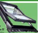 Dachfenster aus Kunststoff von Roro
