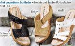 Damen-Sommer-Pantoletten von Lisanne Comfort Plus