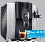 Kaffeevollautomat E8 Modell 2018 Platin von Jura