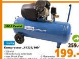 Kompressor 412/8/100 von Güde
