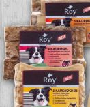 Kau-Snacks von Roy