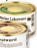 Hausmacher Wurst Spezialitäten von Gutes aus der Eifel
