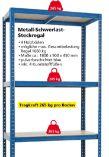 Metall-Schwerlast-Steckregal