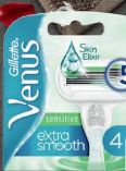 Venus Extra Smooth Sensitive Rasierklingen von Gillette