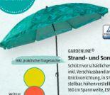 Strand- und Sonnenschirm von Gardenline
