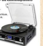 Schallplatten-Kassettendigitalisierer TX-22+ von Technaxx