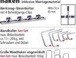 Wand- Leiterhaken von Kraft Werkzeuge