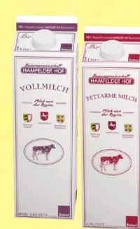 Bio-Milch von Hamfelder Hof