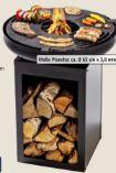 Plancha-Grill und Feuerstelle Matanzas von Silvertree