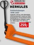 Palettenhubwagen AHW 2500 von Herkules