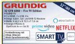 32 GFB 6060 – Fire TV Edition von Grundig