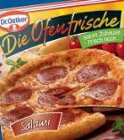 Die Ofenfrische Salami von Dr. Oetker