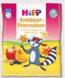 Knabberprodukte von HiPP