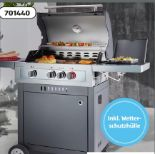 Gasgrill Boston Black 3 K Turbo von Enders