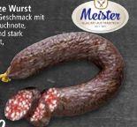 Schwarze Wurst von Meister Wurstwaren