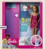 Deluxe-Set Möbel & Puppe von Barbie