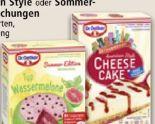 Cheese Cake von Dr. Oetker