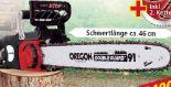 Profi-Elektro-Kettensäge PS2600 von Powertec Garden