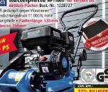 Rüttelplatte HP1100S von Scheppach