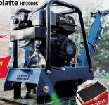 Reversierbare Rüttelplatte HP3000S von Scheppach