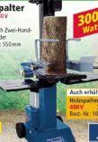 Holzspalter HL805 von Scheppach