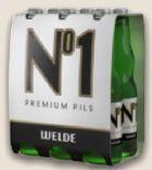 No 1 Premium Pils von Welde