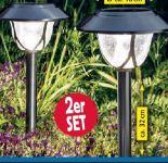 Edelstahl-Solar LED-Leuchte von Duracell