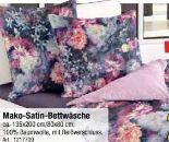Mako-Satin-Bettwäsche von Blerbaum