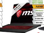 Gaming-Notebook GF75 von MSI