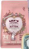 Katzen Nassnahrung von Lily's Kitchen