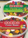 Fruchtgummi-Dose von Haribo