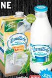 Haltbare Landmilch von Landliebe