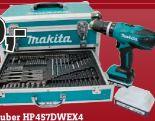 Akku-Schlagbohrschrauber HP457DWEX4 von Makita