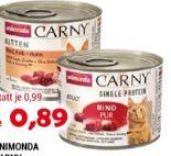 Katzennahrung Carny von Animonda