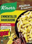 Hüttenschmaus Emmentaler Makkaroni von Knorr