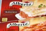 Fertiggerichte von Alberto