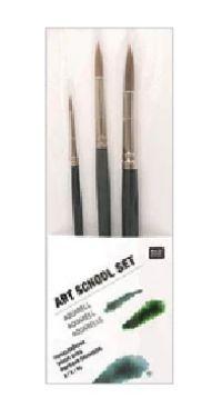 Art School Aquarellpinsel-Set