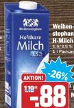 H-Milch von Weihenstephan