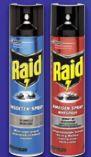 Insekten-Spray von Raid