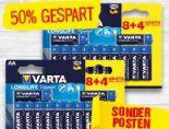 Longlife Batterien von Varta