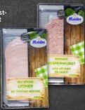 Frischwurst-Aufschnitt von Meister Wurstwaren