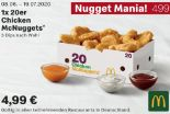 1x 20er Chicken McNuggets 499 von McDonald's