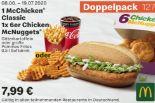 1 McChicken Classic 1 x 6er Chicken McNuggets 127 von McDonald's