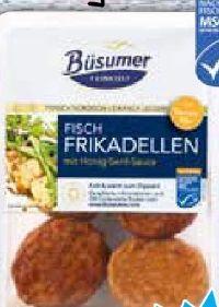 Fisch-Frikadellen von Büsumer Feinkost