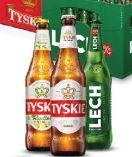 Bier von Tyskie